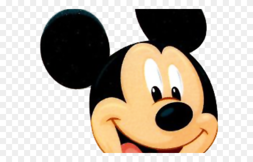 Face Clipart Mickey Mouse - Mickey Mouse Face Clipart