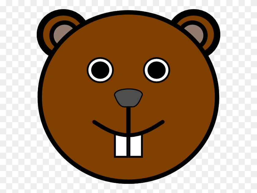 Face Clipart Squirrel - Scared Face Clipart