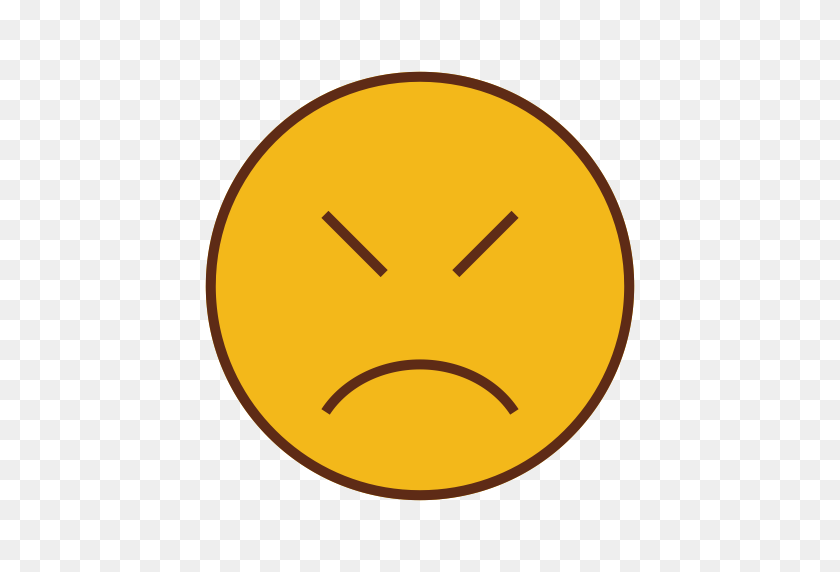512x512 Face, Emoticon, Sad, Emoji Icon - Sad Emoji PNG
