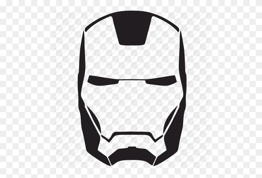 Face, Iron, Man, Mask, Skn - Iron Man Logo PNG