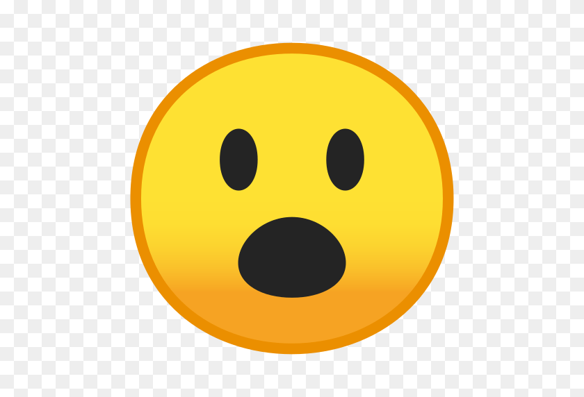 Face With Open Mouth Emoji Meaning With Pictures From A To Z - Shocked Emoji PNG