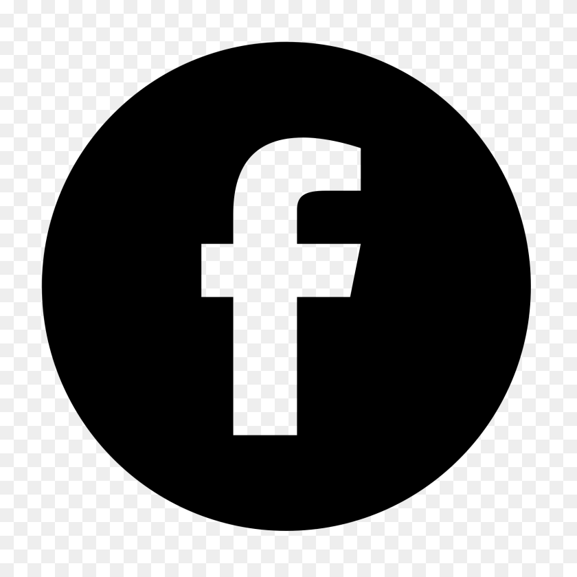 1600x1600 Facebook Rodeado De Icono - Icono Facebook PNG