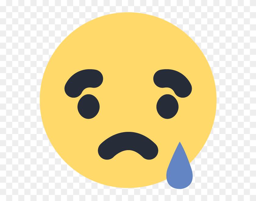 600x600 Facebook Sad Emoji Emoticon Icon Vector Logo Free Download - Sad Emoji Clipart