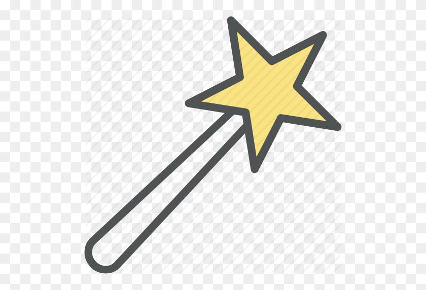 Fairy Wand, Magic Wand, Magical Stick, Magical Wand, Wizard Wand Icon - Fairy Wand Clipart