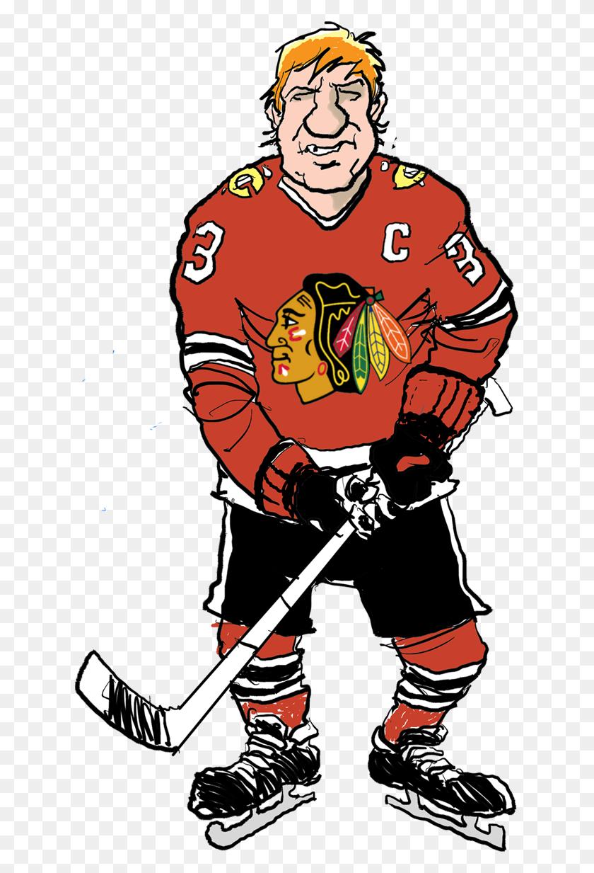 Fakers Guide Blackhawks - Hockey Goalie Clipart