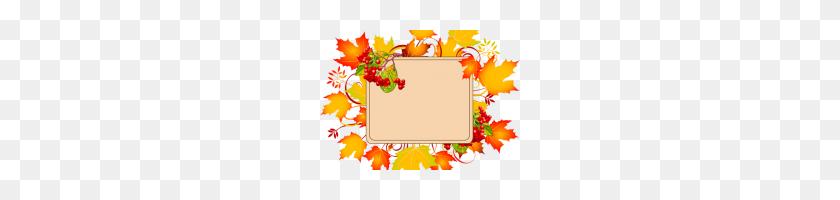 Fall Border Clipart Fall Leaves Clip Art Border Autumn Leaves - Corner Clipart