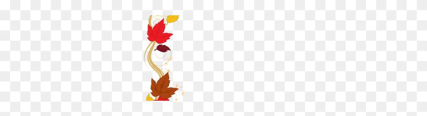Fall Leaves Border Clipart - Pumpkin Border Clipart
