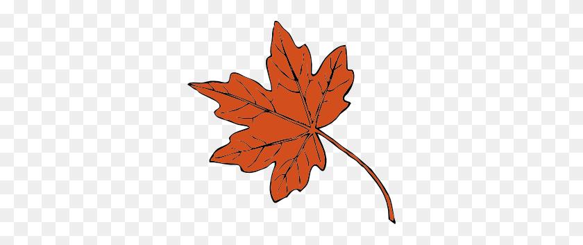 Fall Leaves Clip Art - Thanksgiving Banner Clipart