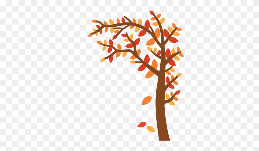 432x432 Fall Tree Cutting For Scrapbooking Autumn Cut Clipart - Free Fall Clip Art