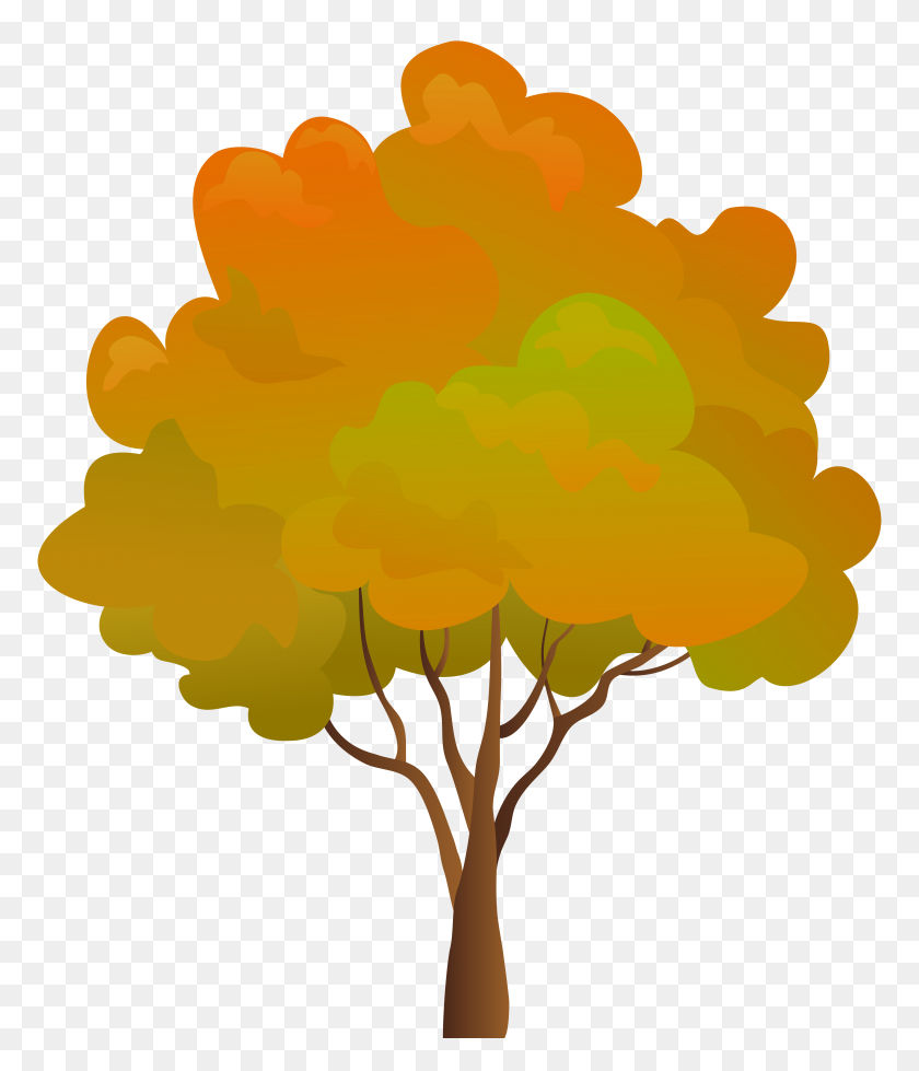 Fall Tree Png Clip Art - Trees Clipart PNG
