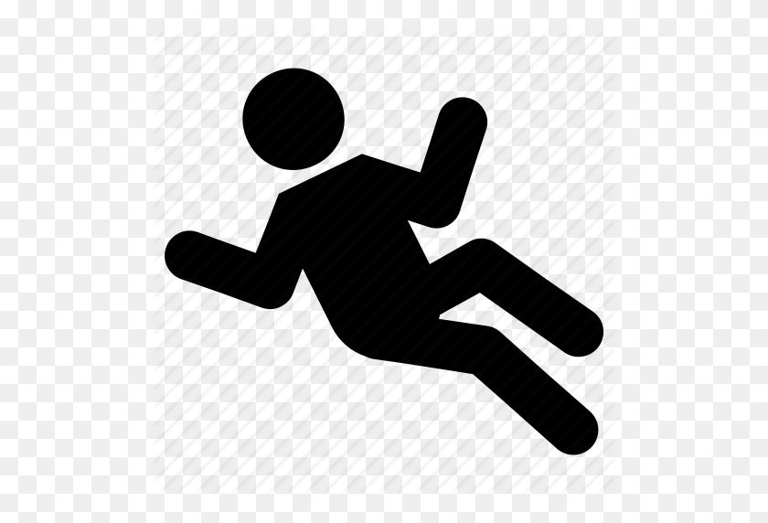 Falling, Male, Man, Stick, Stickman Icon - Man Falling PNG
