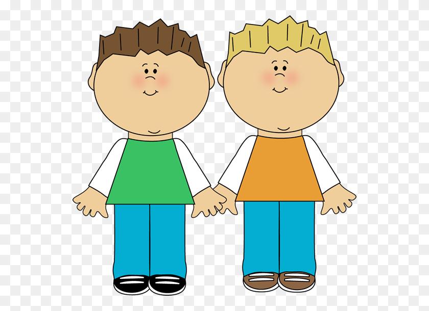 Family Clip Art - Twins Clipart