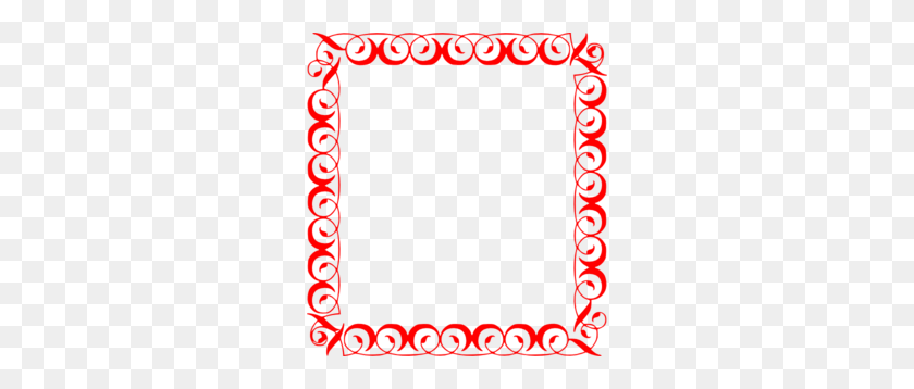 Fancy Border Clip Art - Word Clip Art Borders