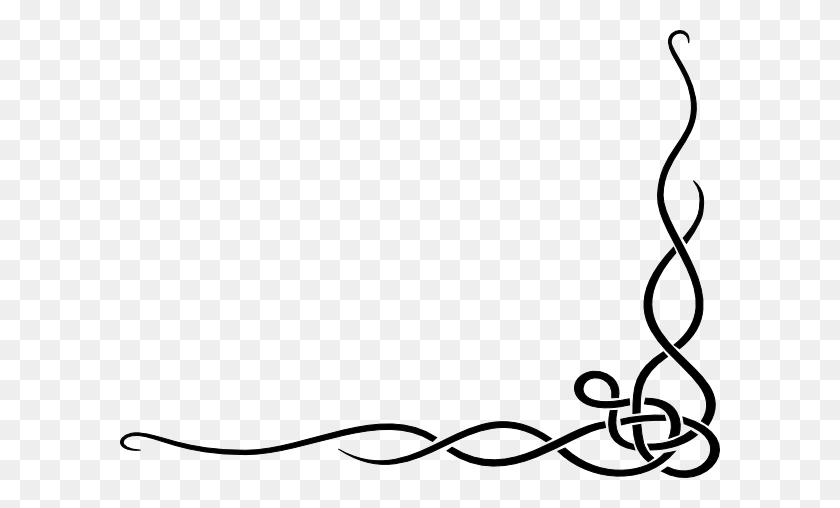 Fancy Border Clip Art Swirl Free Clipart Images - Fancy Scroll