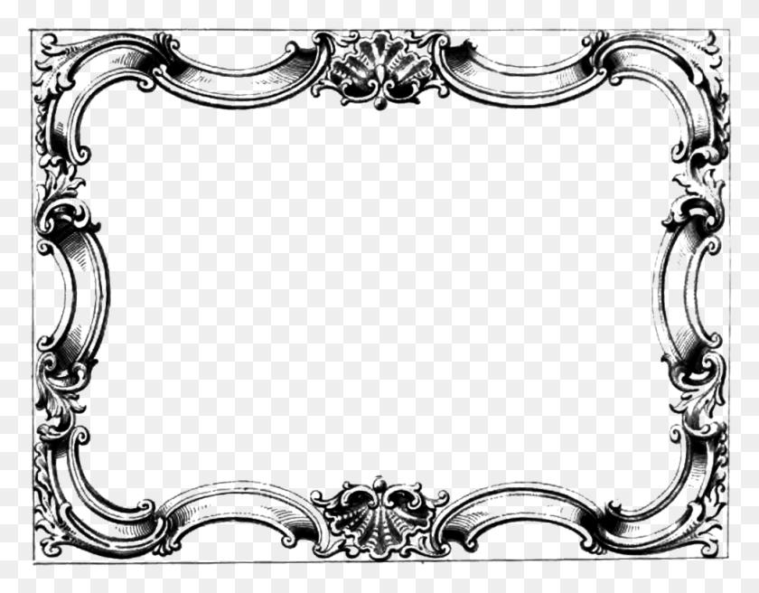 Fancy Border Cliparts - Fancy Frame PNG