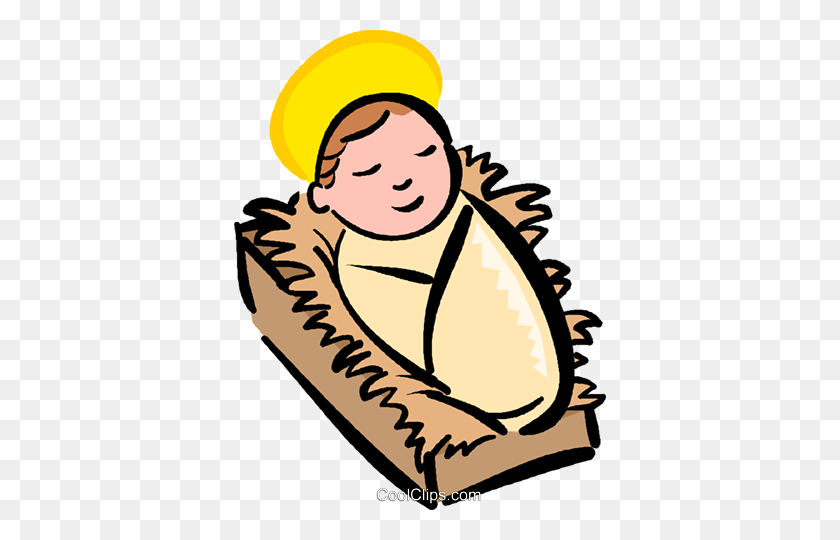 372x480 Fancy Free Clipart Baby Jesus - Free Clipart Of Jesus