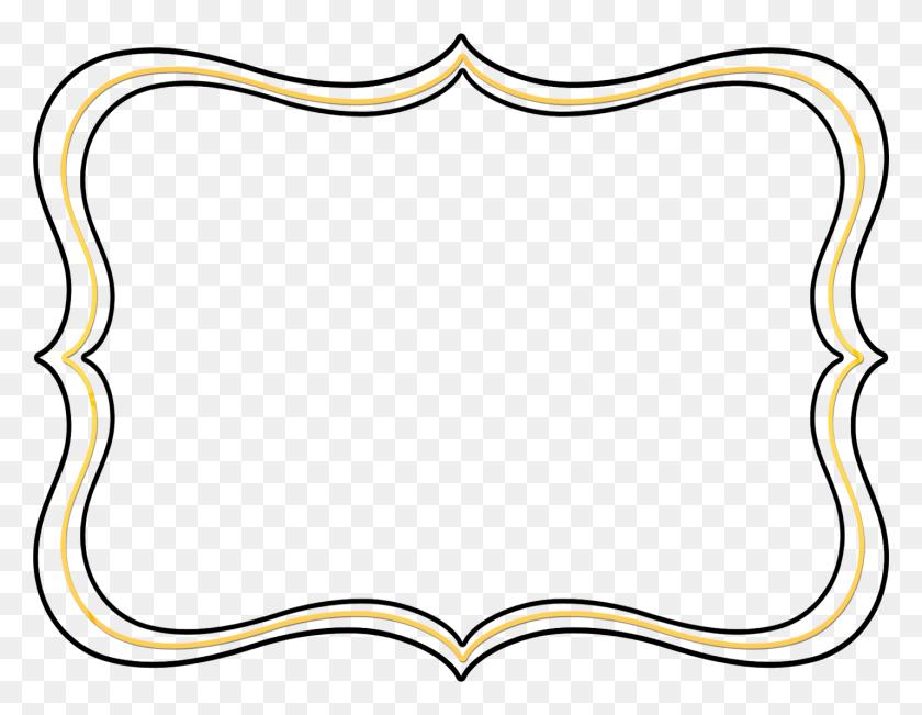 Fancy Text Box Borders - Scroll Clipart Transparent