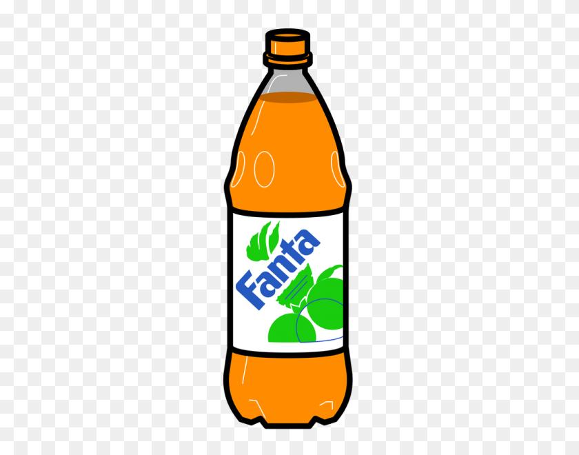 Fanta Clipart Nice Clip Art - Water Bottle Clipart Free