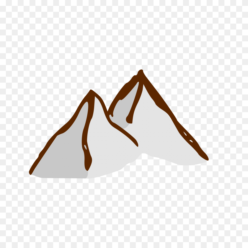Fantasy Map Mountains Clipart - Mountains Clipart PNG