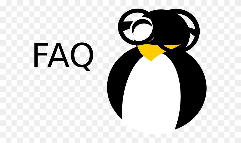 Faq Penguin Nerd Clip Art - Nerd Clipart