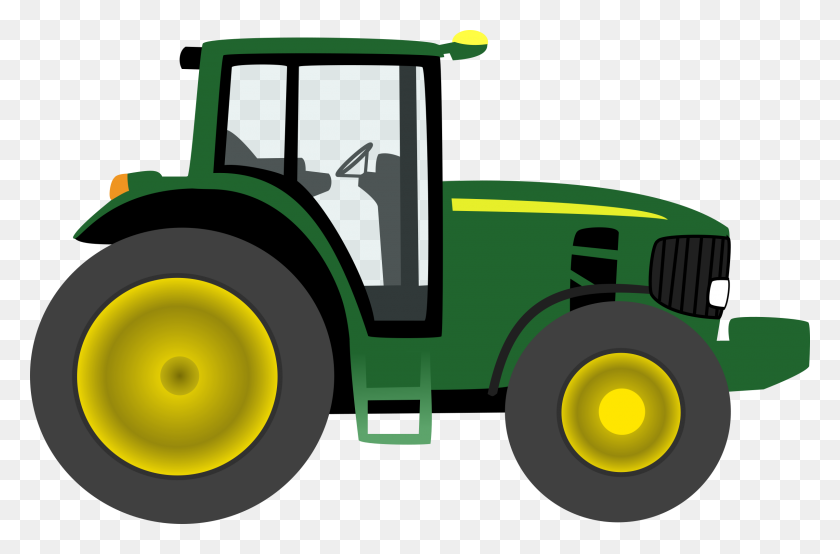 Farm Clipart Farm Tractor - Farm Field Clipart