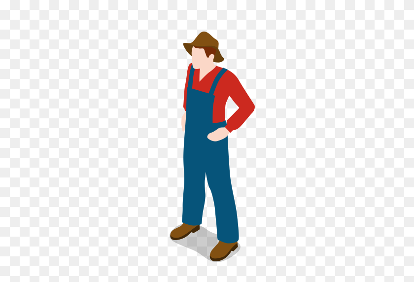 Farm, Farmer, Male, Man, People, Standing Icon - People Standing PNG