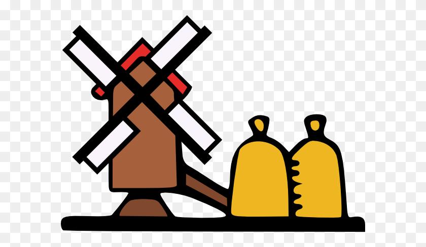 Farming Windmill Clip Art - Mill Clipart