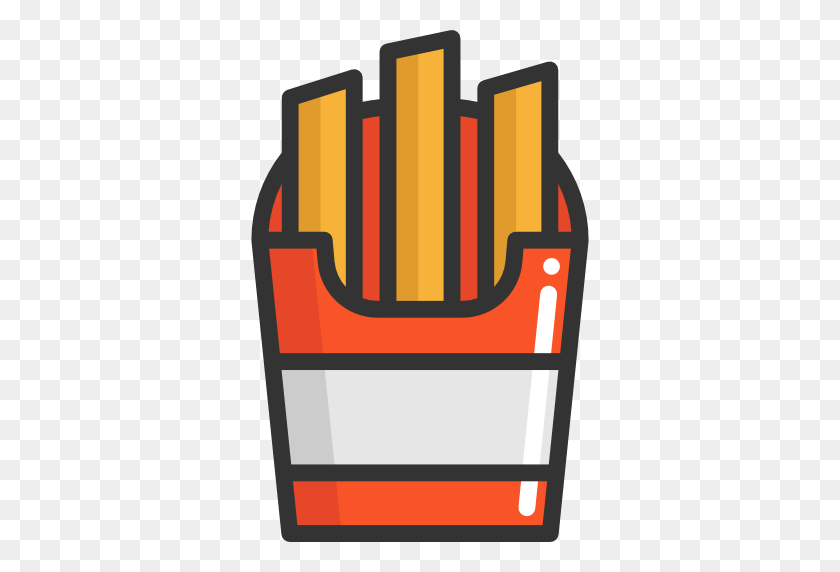 Fast Food, Junk Food, Food, Restaurant, French Fries, Potatoes - Fast Food Restaurant Clipart
