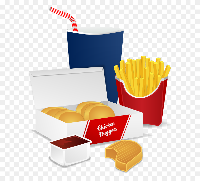 Fastfood Clipart - No Food Clipart