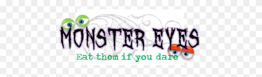 553x189 Favors The Life Of The Party - Monster Eyes Clipart