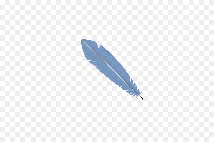 Feather Free Clipart - Feather Clip Art Black And White