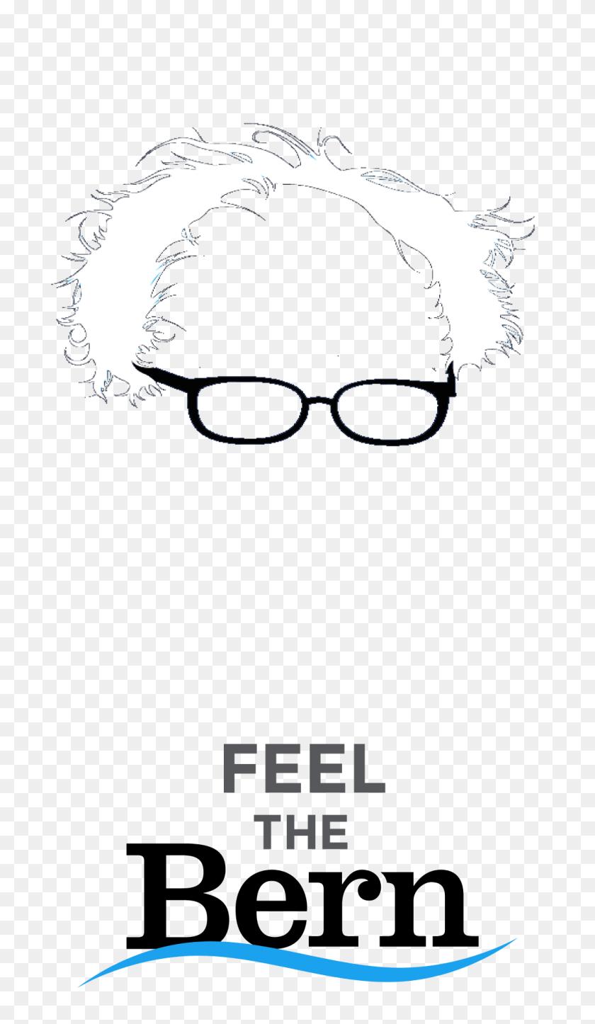 Feel The Bern Snapchat Filters Sandersforpresident - Snapchat Filters PNG