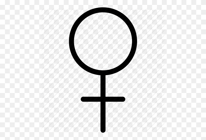 Female, Female Icon, Female Sign, Female Symbol, Girl Icon - Female Sign PNG