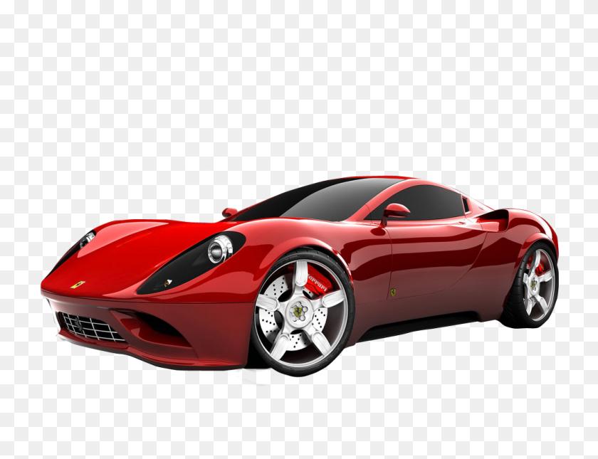 1024x768 Ferrari Png Images Free Download - Black Car PNG