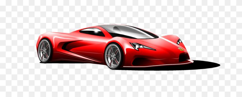 Ferrari Png Transparent Images - Red Car PNG