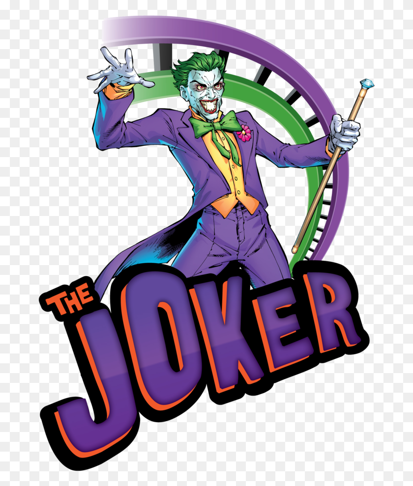 Fictional Character Clipart The Discovery Kingdom Joker Six Flags - The Joker Clipart