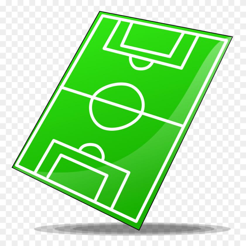 Field Clipart Green Field - Soccer Field Clipart