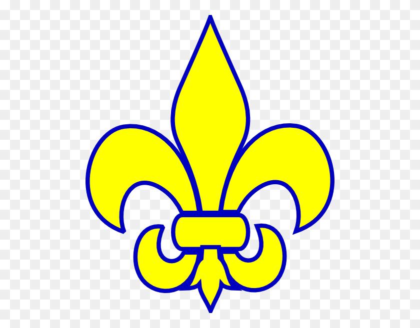 498x597 Fier De Lis Cub Scout Clipart - Free Fleur De Lis Clip Art