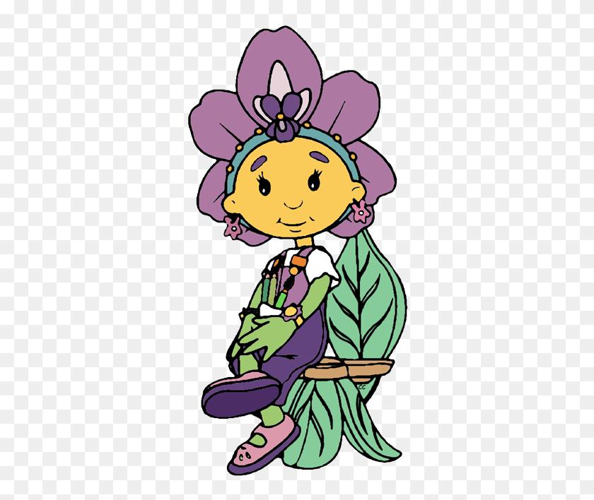 Fifi And The Flowertots Clip Art Cartoon Clip Art - Aunt Clipart