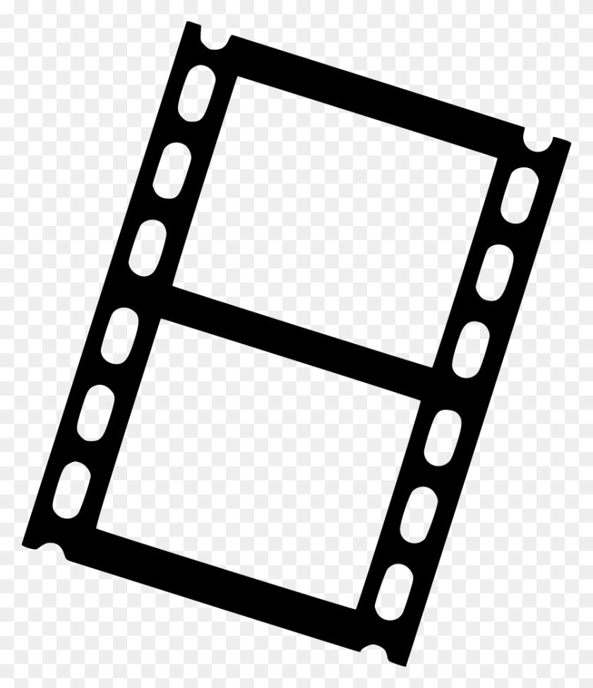Film Movie Strip Filmstrip Png Icon Free Download - Film Strip PNG