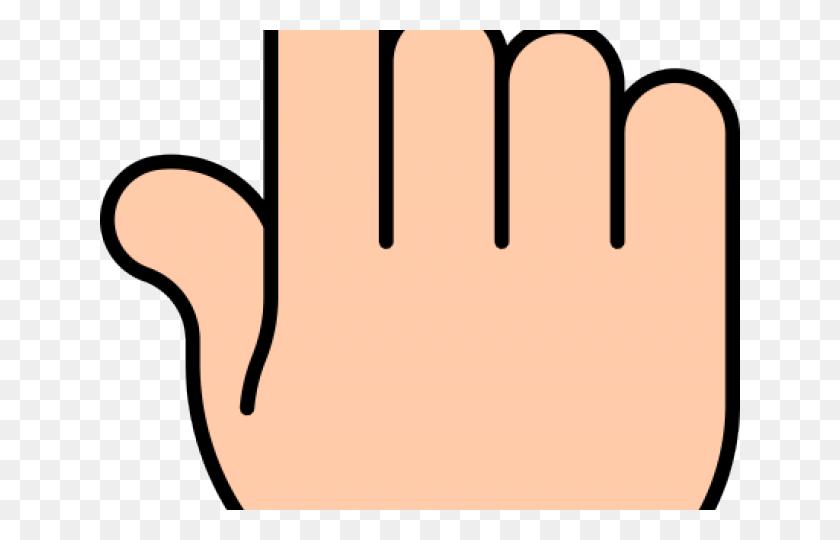 Finger Clipart Simple - Foam Finger Clipart