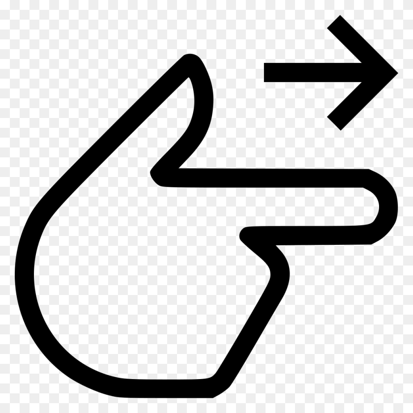 Finger Point Right Png Icon Free Download - Finger Point PNG