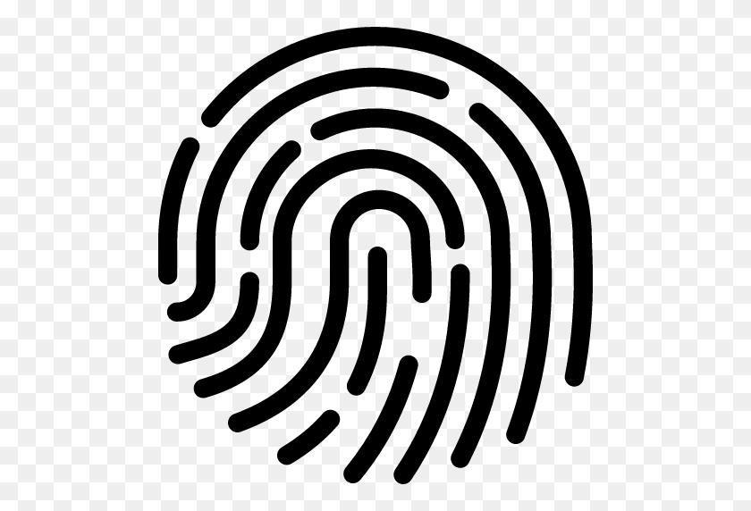 Fingerprints Icons - Thumbprint PNG