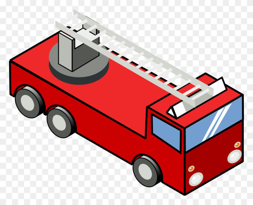 Fire Engine Car Firefighter Truck - Firefighter Truck Clipart