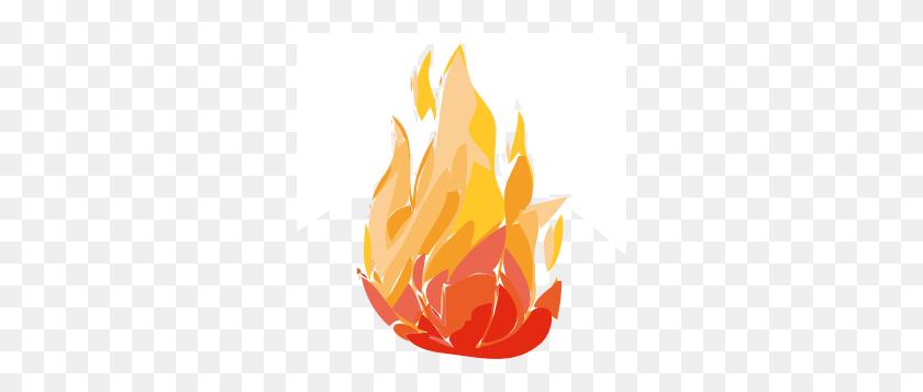 Fire Flames Clip Art - Fired Clipart