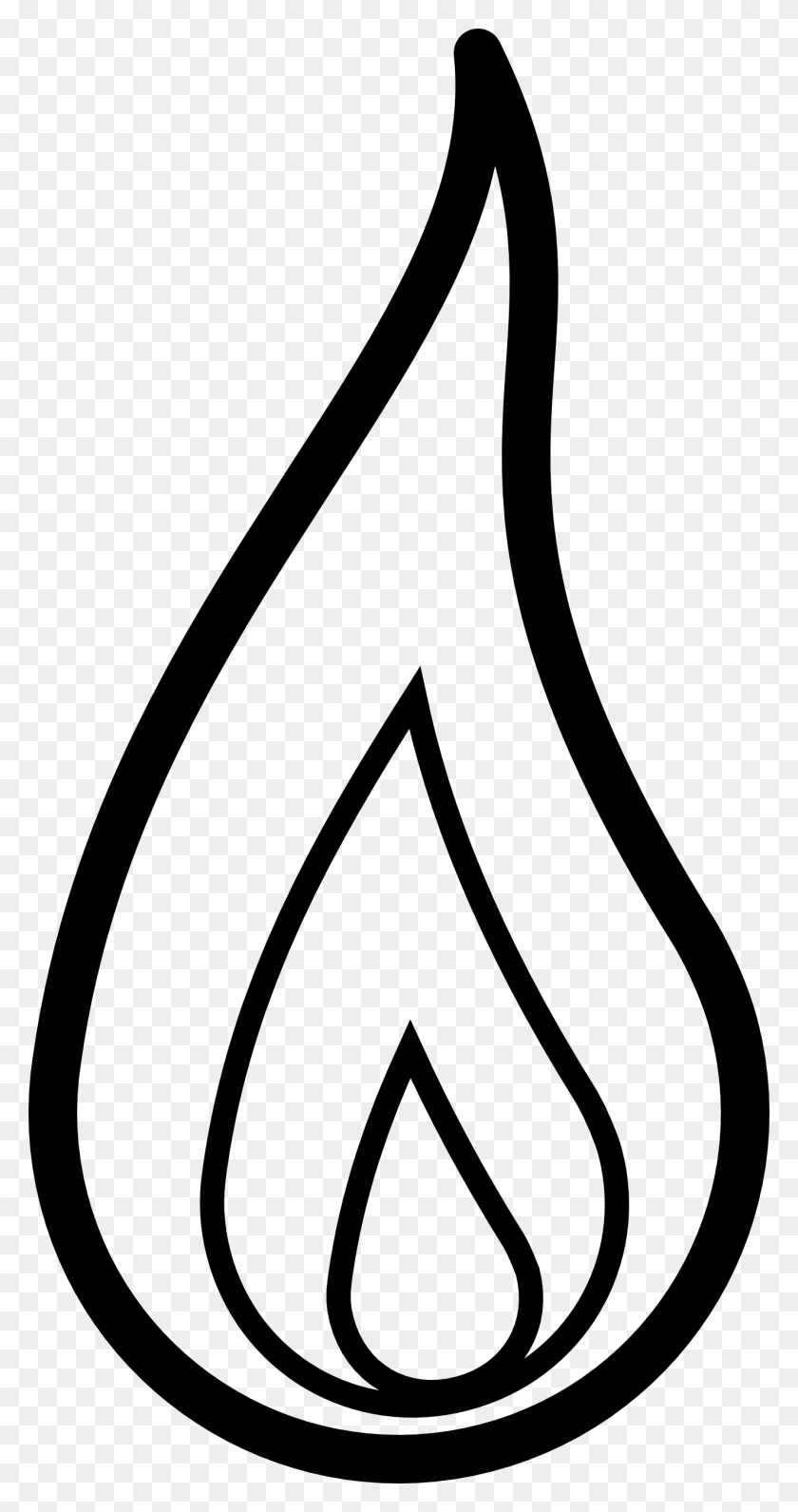 Fire Light Clipart - Candle Clipart Black And White - Png Download  (#2107070) - PinClipart