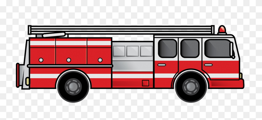 1000x419 Fire Truck Clip Art Clipart Images - Rzr Clipart
