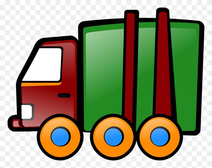 Fire Truck Clipart Mewarnai - Semi Truck Clipart