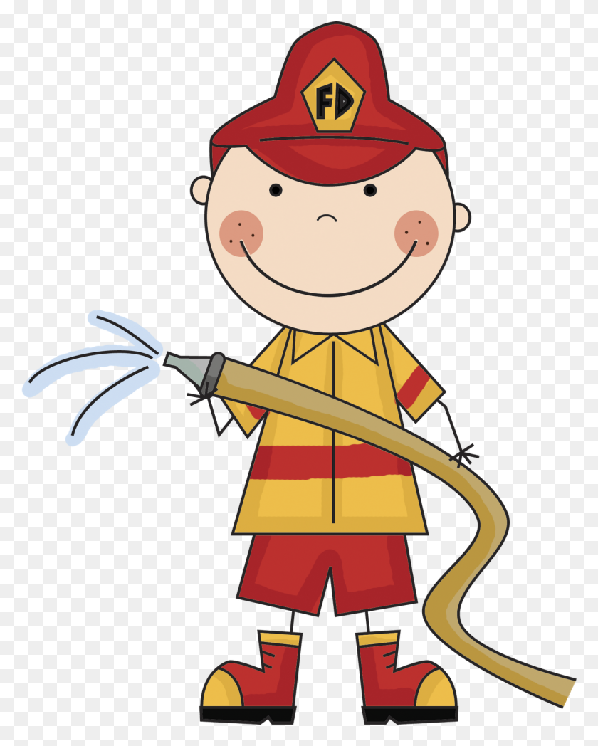 Firefighter Clip Art Firefighters Clipartix - Pull Up Clipart