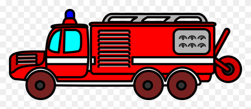 Firefighter Fire Engine Fire Station Fire Department Free - Fire Station Clipart